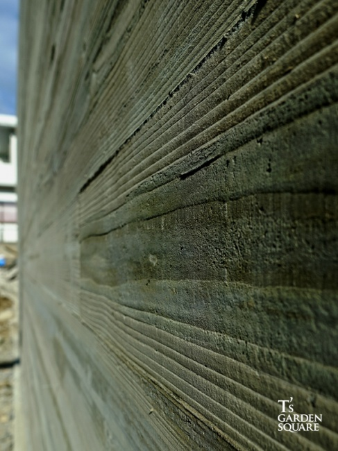 本実型枠打ちっぱなし仕上げコンクリート