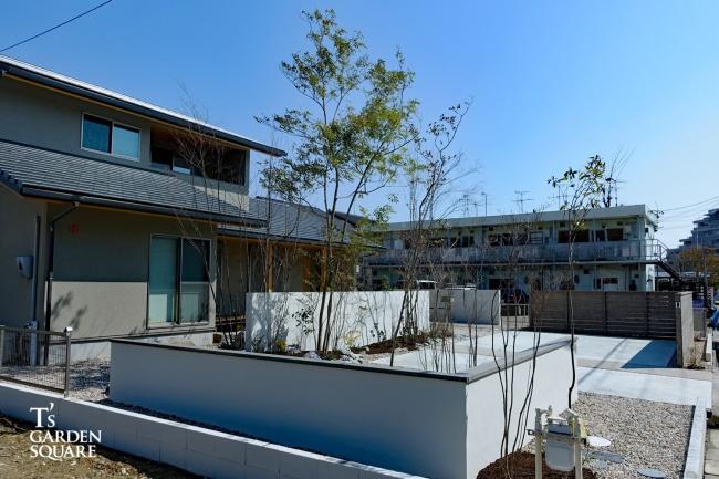 三和木の庭工事