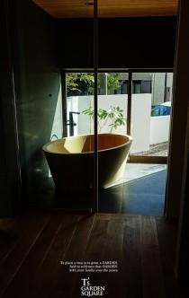 風呂の坪庭