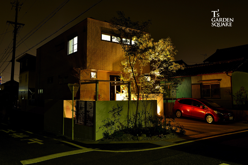 旭化成 サイド 夜景