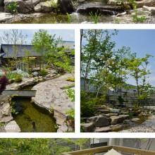 雑木林の庭 川の庭jpg