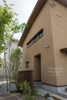 エコ建築考房玄関