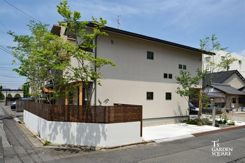 新築外構|雑木の庭