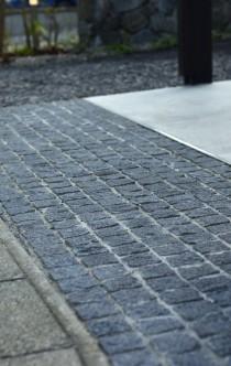ピンコロ石畳