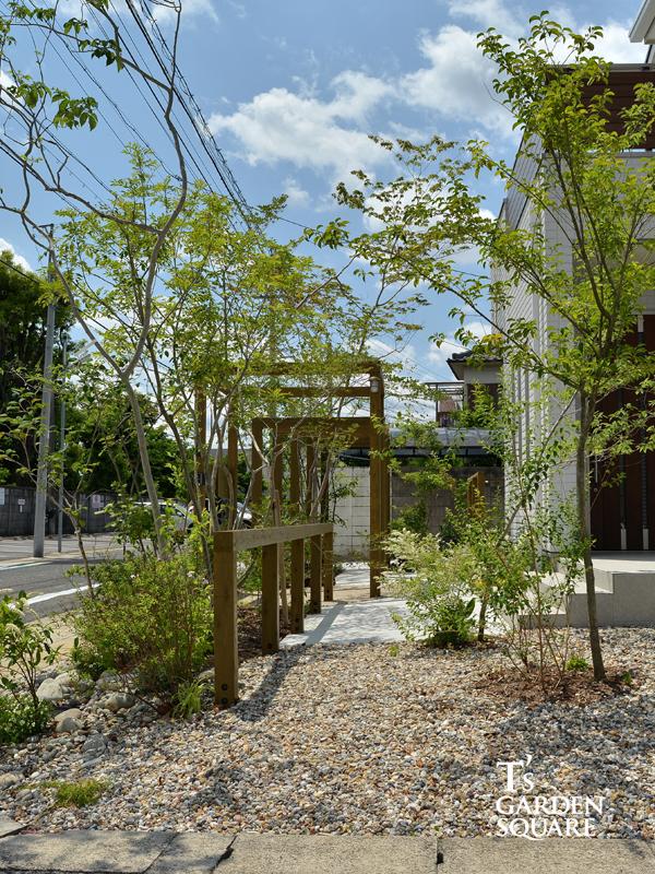 雑木林の庭