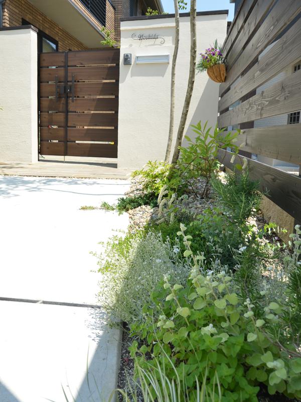 花壇 セキスイハイム
