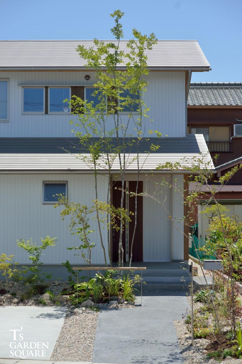 エコ建築工房庭